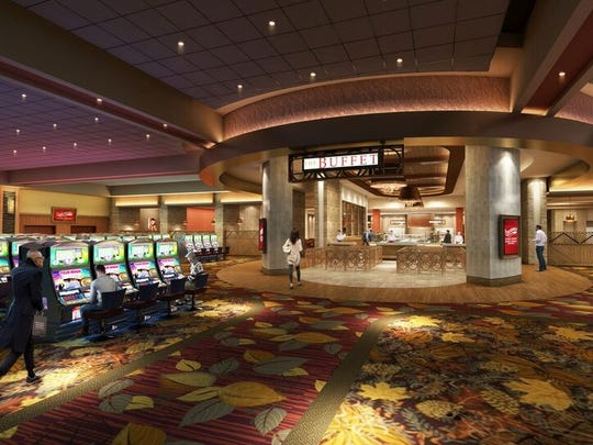 A rendering of the inside of the Four Winds South Bend