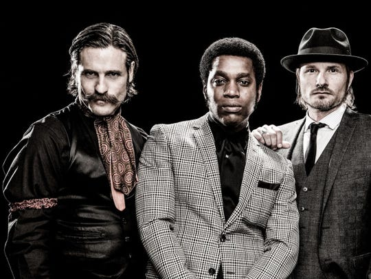 Vintage Trouble performs at Turner Hall Ballroom Wednesday.