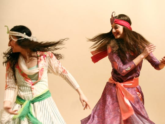The Khorshid Khanoom Dance Group of Montreal performs traditional Iranian and Persian folk dances for Nowruz.