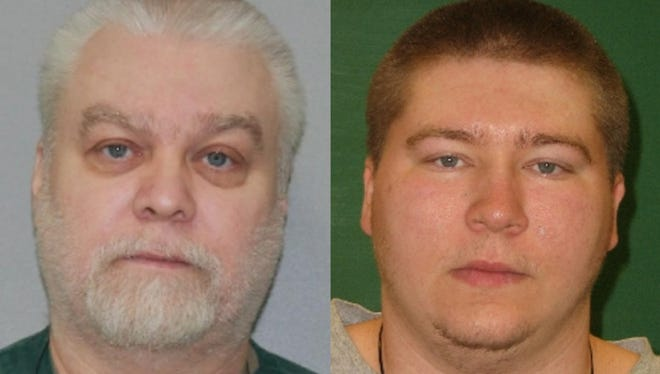 Wisconsin Department of Corrections photos of Steven Avery in December 2015 and Brendan Dassey in October 2011