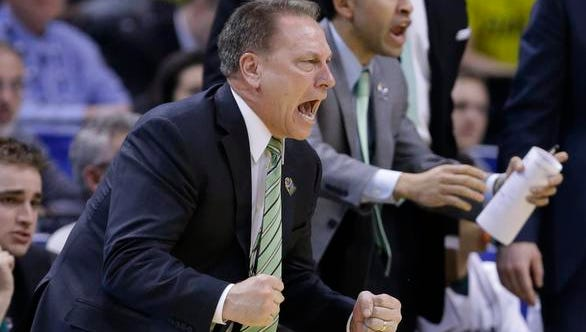 """There are people around here that pronounced us dead a week ago,"" said Michigan State coach Tim Izzo, whose team lost five of its last seven regular-season games."