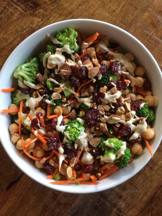 tallgrass30-Tahini Broccoli Salad