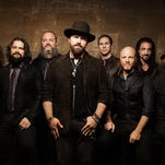 The Zac Brown Band joins the FSU Homecoming 2015 festivities during the Warchant concert on Thursday night in the Civic Center.