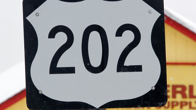 Route 202 sign