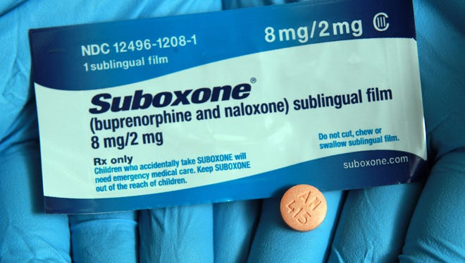 Suboxone is used to help curb cravings in opiate or prescription painkiller addicts and stabilize them so they can function without withdrawal symptoms.