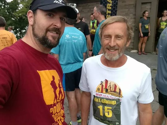 Chris Herman of Avon and Mark Lavner of Fairport run every day. They are among the seven local run streakers, who run a mile or more daily for at least a year. Herman's streak is nearly two years and Lavner has run daily for more than six years.