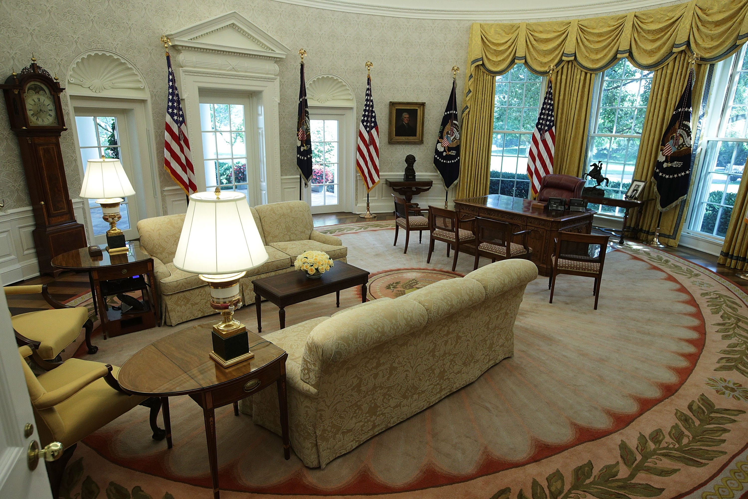 York Wallcoverings delivers on White House rush order selected by