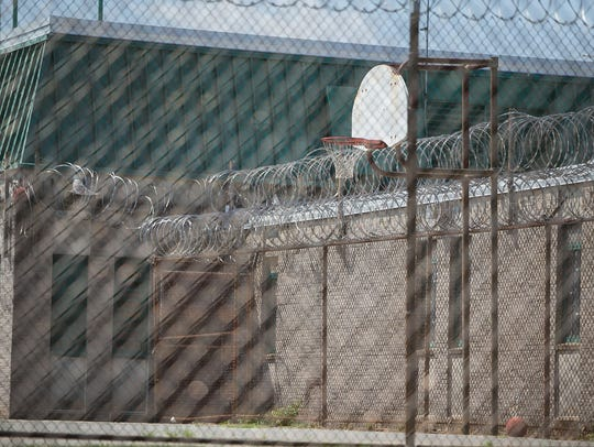 Inmates overpowered correctional officers as they were returning from the recreation yard outside of Building C on Feb. 1, 2017. The building has remained largely untouched following the riot.
