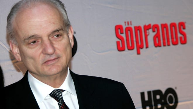 In this file image creator and executive producer of 'The Sopranos,' David Chase attends the HBO premiere of The Sopranos at Radio City Music Hall in 2007.