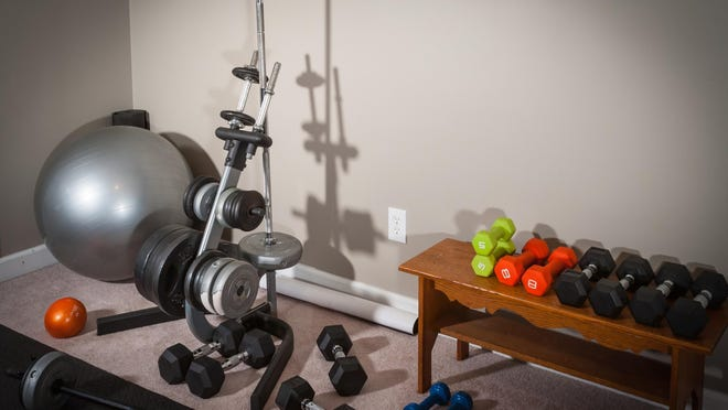 A home gym is an excellent use for an extra room.