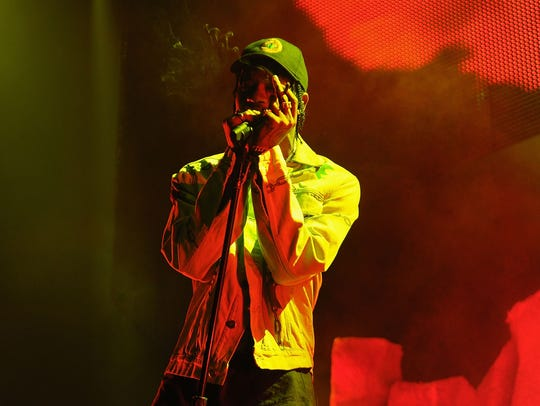 Travis Scott performs at Barclays Center on November