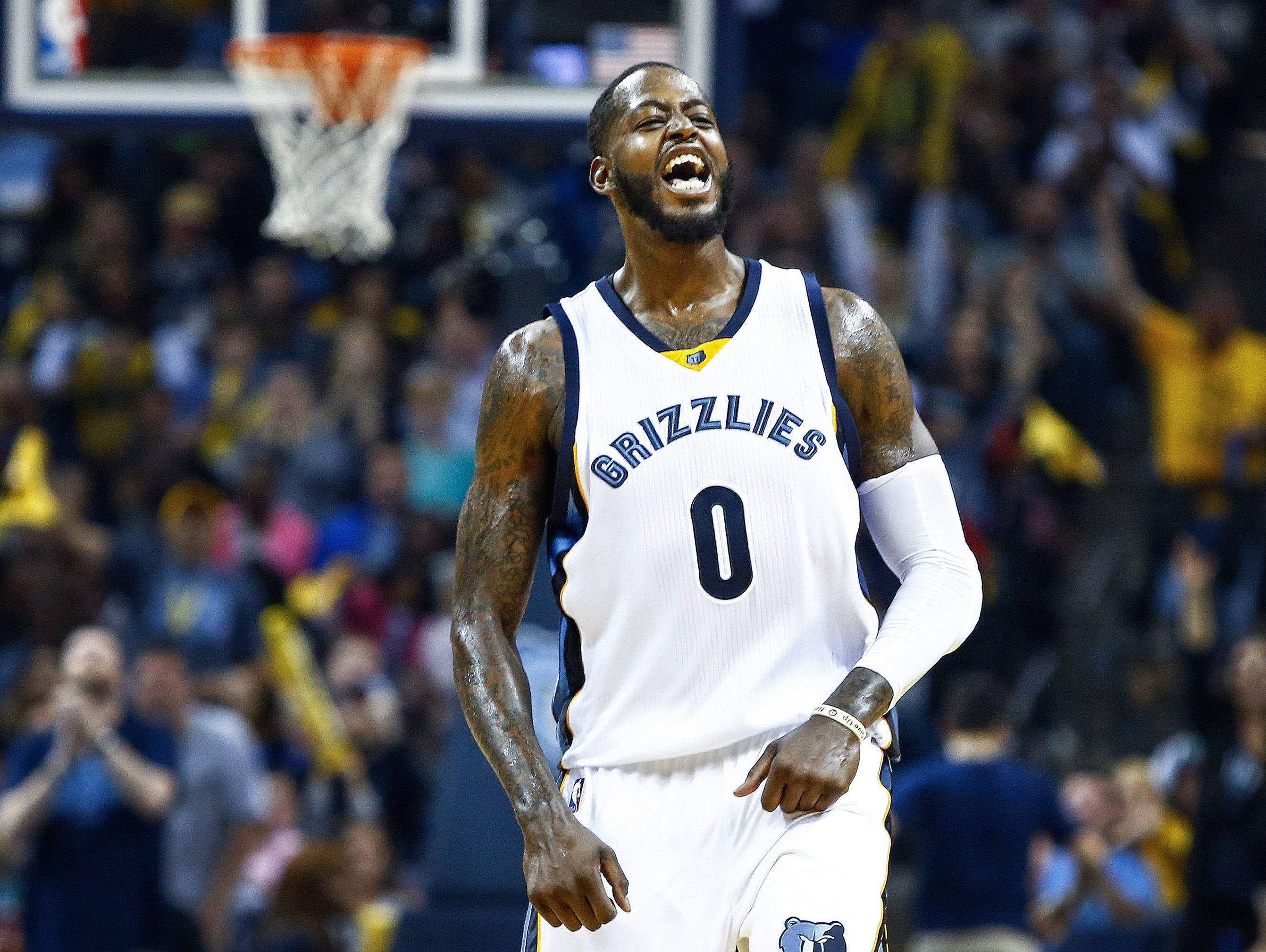 Forward JaMychal Green has until Oct. 1 to sign a qualifying offer for $2.8 million. Mark Weber / The Commercial Appeal Forward JaMychal Green has until Oct. 1 to sign a qualifying offer for $2.8 million.
