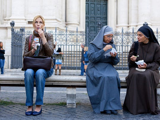 "Julia Roberts as ""Elizabeth Gilbert""  in Italy in a scene from the motion picture ""Eat, Pray, Love.""  Photo by Francois Duhamel, Columbia Pictures'  [Via MerlinFTP Drop]"
