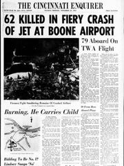 Stories of the crash of TWA Flight 128 filled the Enquirer's