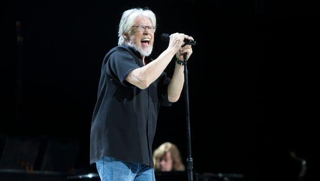 Bob Seger performs at Gila River Arena, Thursday, February 19, 2015, in Glendale, Ariz.