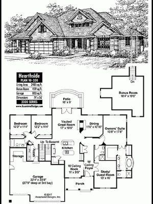 Hearthside house plan