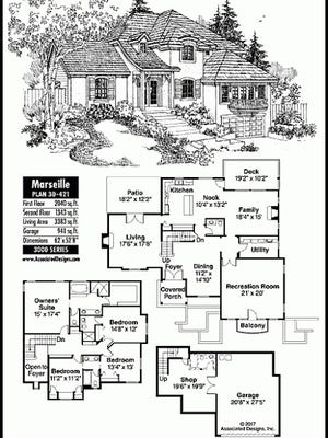 marseille house plan