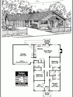 Evelyn house plan
