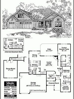 Schuyler house plan