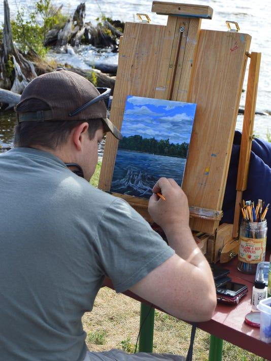 Landscape painting 8-15