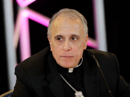 AP CATHOLIC BISHOPS DINARDO A FILE USA MD