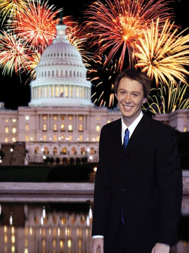 """Clay Aiken formally declared his bid for Congress in Febuary 2014, setting aside the singing career he launched on TV's """"American Idol"""" to run as a Democrat for a North Carolina seat now held by a Republican."""