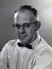 Gerald Kloss is shown in his 1959 Milwaukee Journal employee photo.