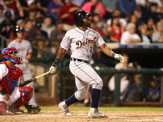 East outfielder Christin Stewart of the Detroit Tigers