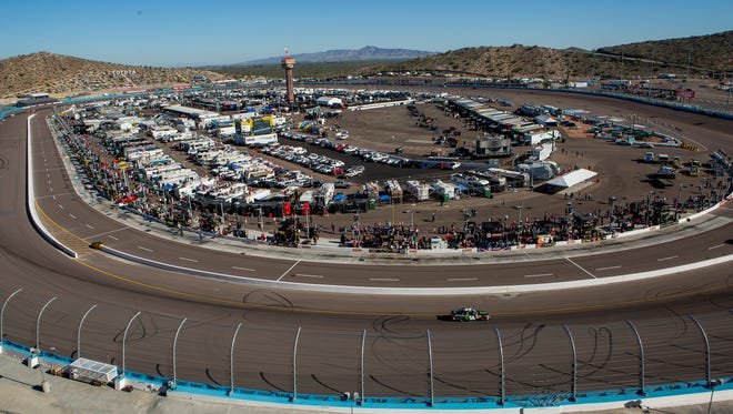 NASCAR at the Phoenix International Raceway.