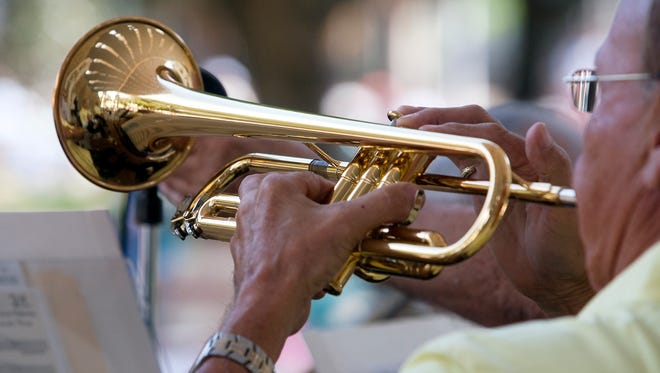The Gulf Coast Big Band will perform its free holiday jazz concert at 2 p.m. Sunday at Cambier Park.