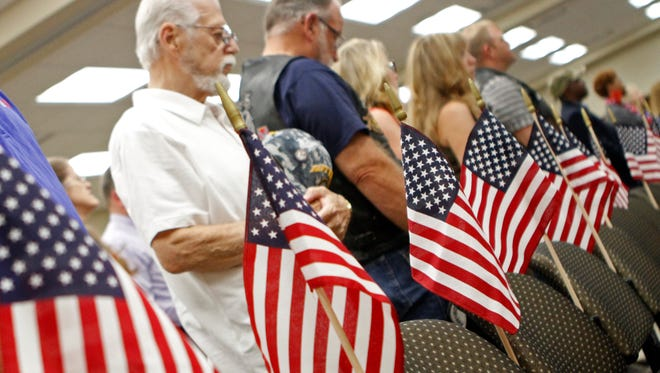 Clarksville-Montgomery County hosted its annual Memorial Day Ceremony at William O. Beach Civic Hall on Monday.