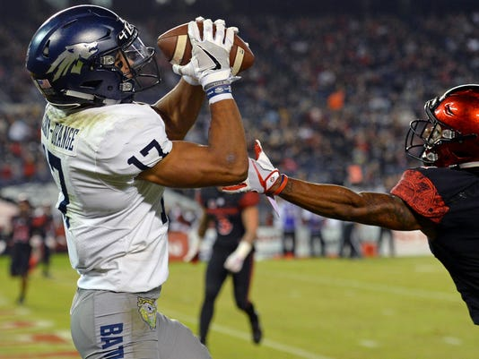 NCAA Football: Nevada at San Diego State