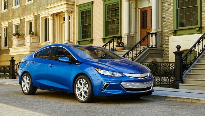 Chevrolet's 2016 Volt model offers travels 53 miles of gas free travel, relying on a stronger lithium battery than the first model.