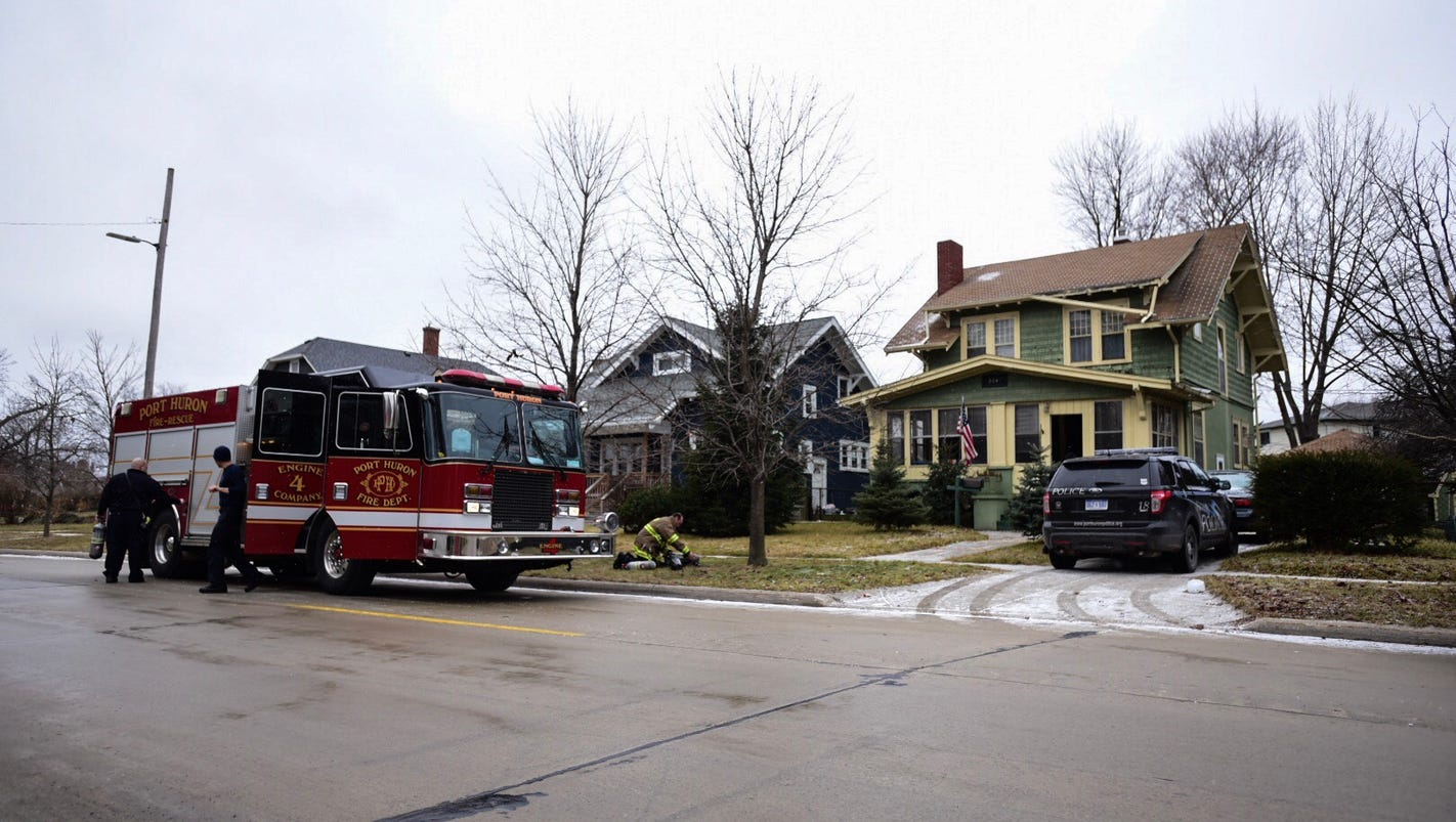Mother, son found dead in Port Huron home