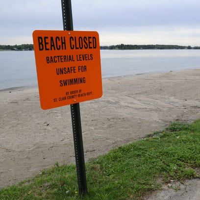 Chrysler Beach in Marysville is closed and unsafe for
