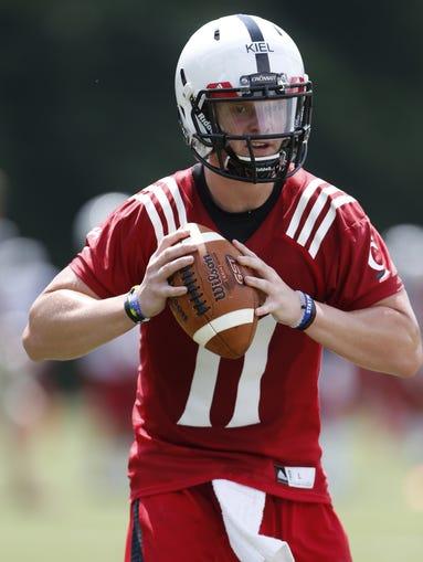 Heralded University of Cincinnati quarterback Gunner Kiel will finally play his first college football game.