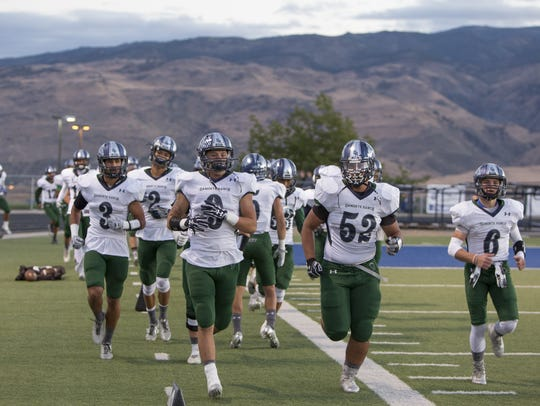 Damonte Ranch is the defending Northern 4A football