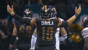 Rattlers QB Nick Davila returns to his roots to l ead unbeaten team against the LA KISS
