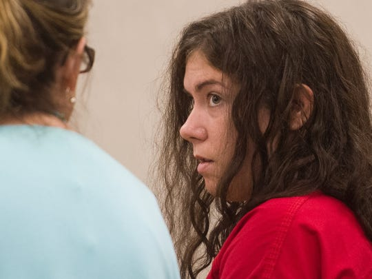 Allison Gee, 25, appears in Vermont Superior Court
