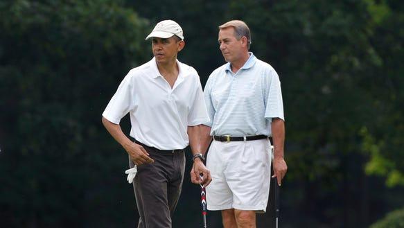 AP Obama Boehner Golf_001