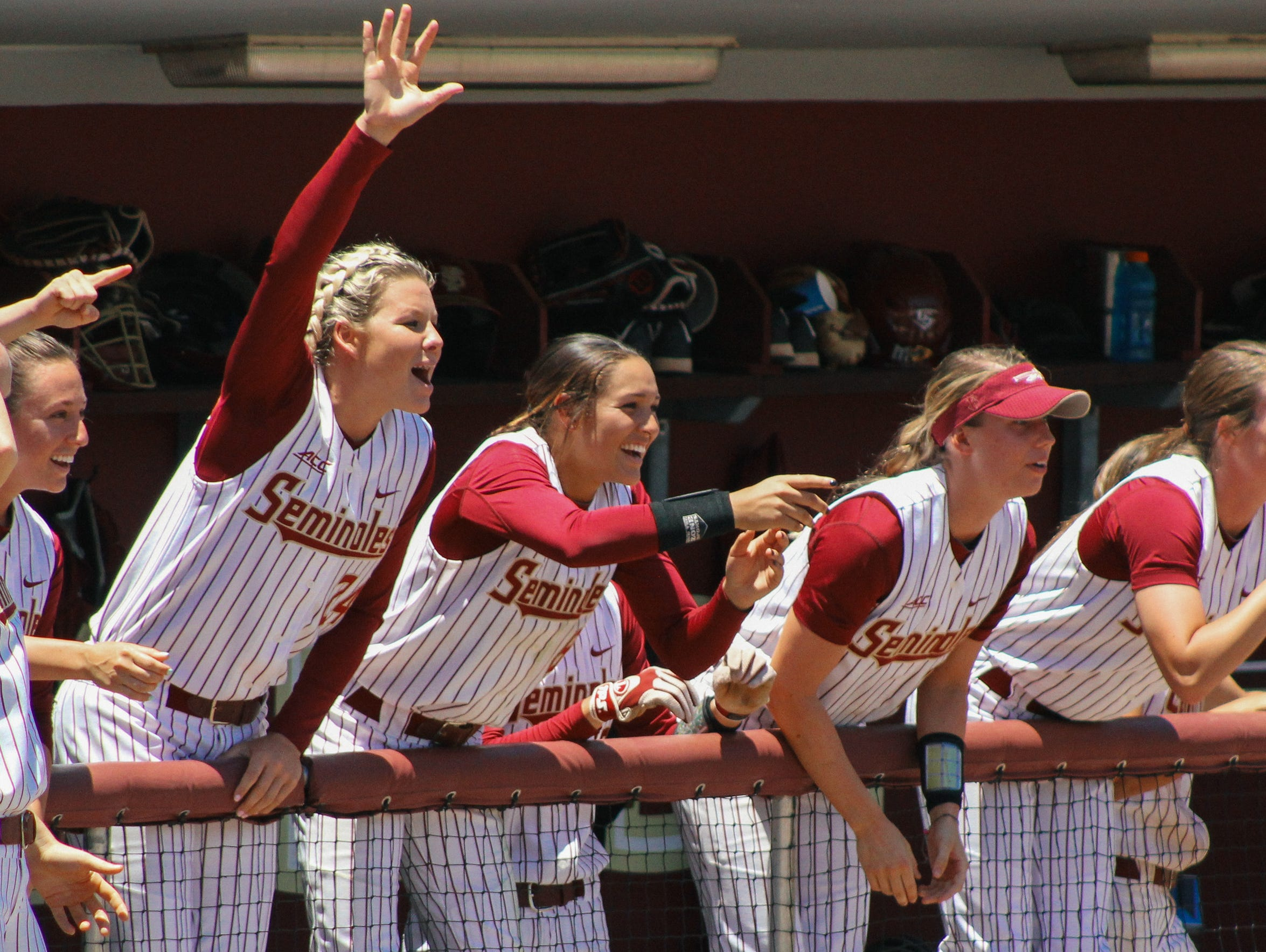 Florida State advanced to the NCAA Super Regionals