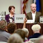 Legislative candidates debate issues