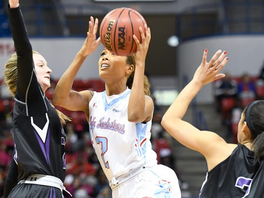 Lady Techster Basketball vs SFA