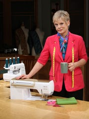 "Nancy Zieman hosted the public-television show ""Sewing"