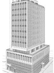 The Fairlane, which is planned for 401 Union St., will include 81 hotel rooms and a restaurant.