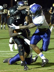 Hendersonville junior Anthony Hughes and the Commandos