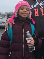 Aniyah Middlebrook, 6, said her feelings were hurt when she heard about the crash that killed her principal.