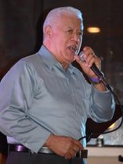 Gadeo Rios of Philadelphia sings traditional music