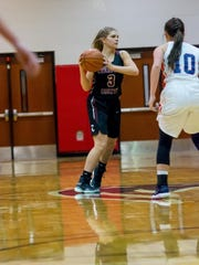 Cheatham County's Emmy Nelson scored 17 points in a