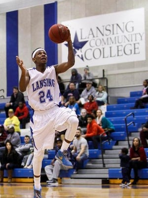 Former East Lansing High School and Lansing Community College men's basketball guard Javon Haines earned Most Valuable Player honors at a junior college all-star game in Las Vegas Saturday.